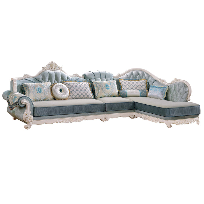 Traditional Sofa Chaise Bed
