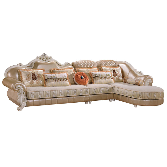 Golden Sofa Chaise Bed II