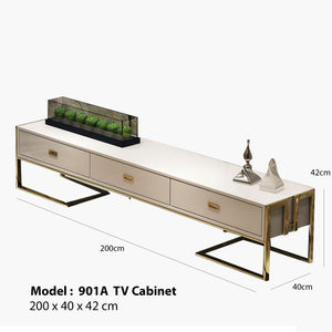Bernard White Tv Cabinet