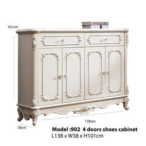 Four Doors Shoe Cabinet