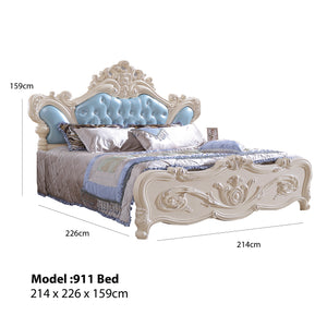 Imperial Upholstered Panel Bed