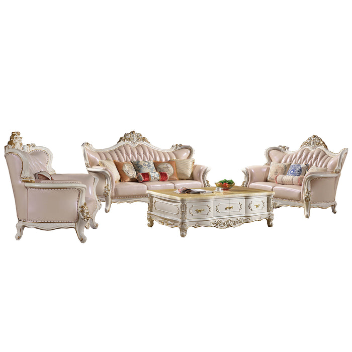 Royal Pinky Sofa Set