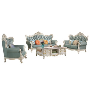 Gray King Style Sofa Set