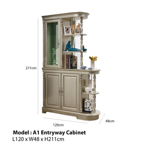 Accent Storage Antique Cabinet