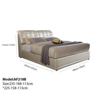 Sleep Sync Upholstered Platform Bed