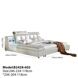 Mod Upholstered Luxurious Bed