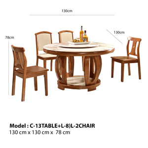 Brooks Circle Dining Set