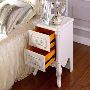 Glossy Coated  Night Stand