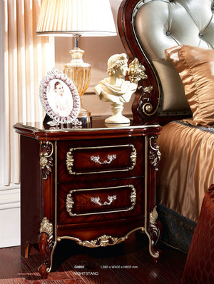 Mauricio 2 Drawer Nightstand