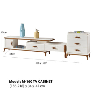 Whitish color design Tv Cabinet