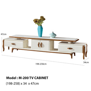 Creatively Crafts Modern TV Cabinet
