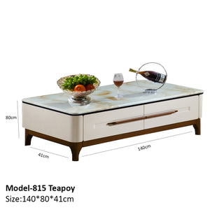Teapoy Tables with Drawers