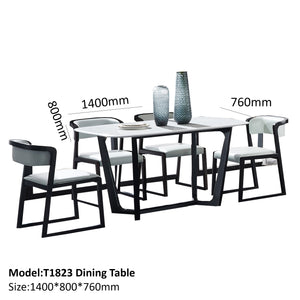Ash Wood Dining Set