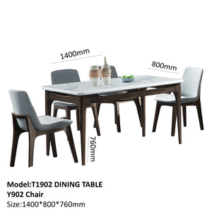 Gloss Coated Dining Set