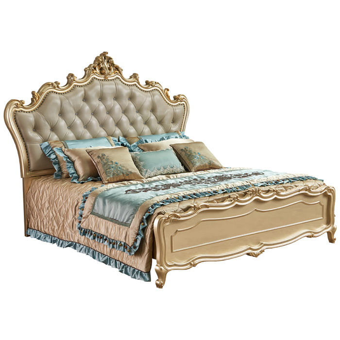 Andreas Upholstered Headboard Bed