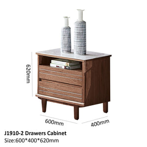Alexa 2 Drawers Cabinet - Best Wish Shopping