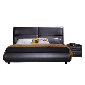 Alexa Upholstered Platform Bed - Best Wish Shopping