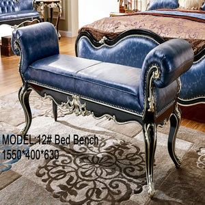 All Decor Bed Bench with Rolled Arms - Best Wish Shopping