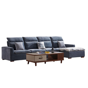 Ash Sofa Bed And Footstool - Best Wish Shopping