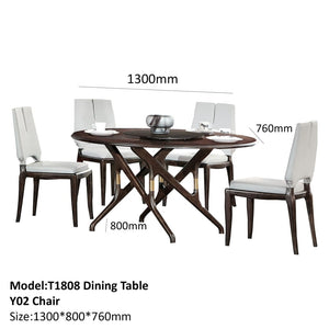 Ashley Elegant Round Dining Table - Best Wish Shopping
