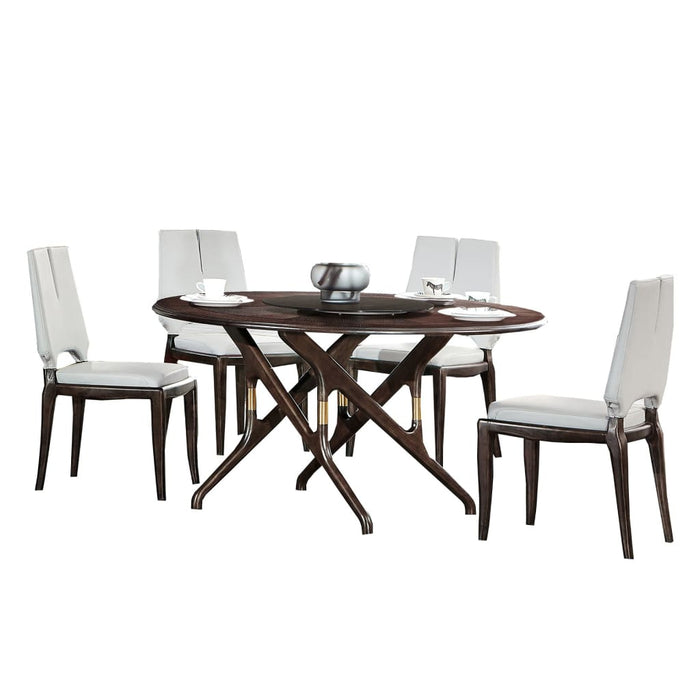 Ashley Elegant Round Dining Set