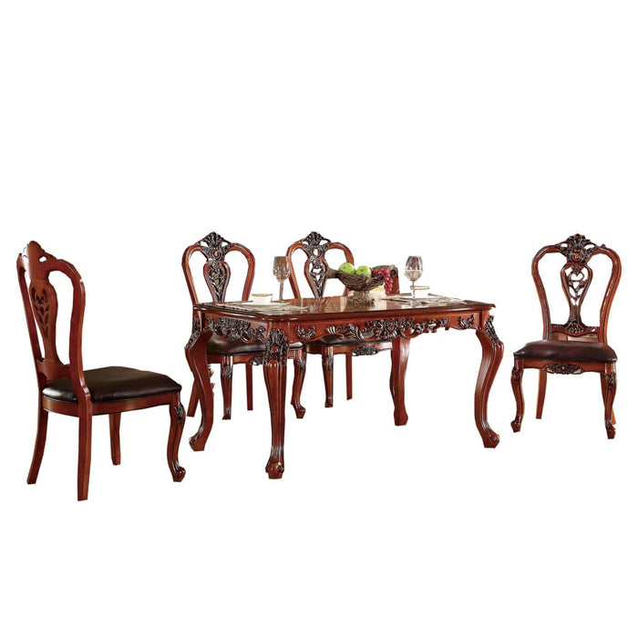 Bank Extending Royal Style Dining Table