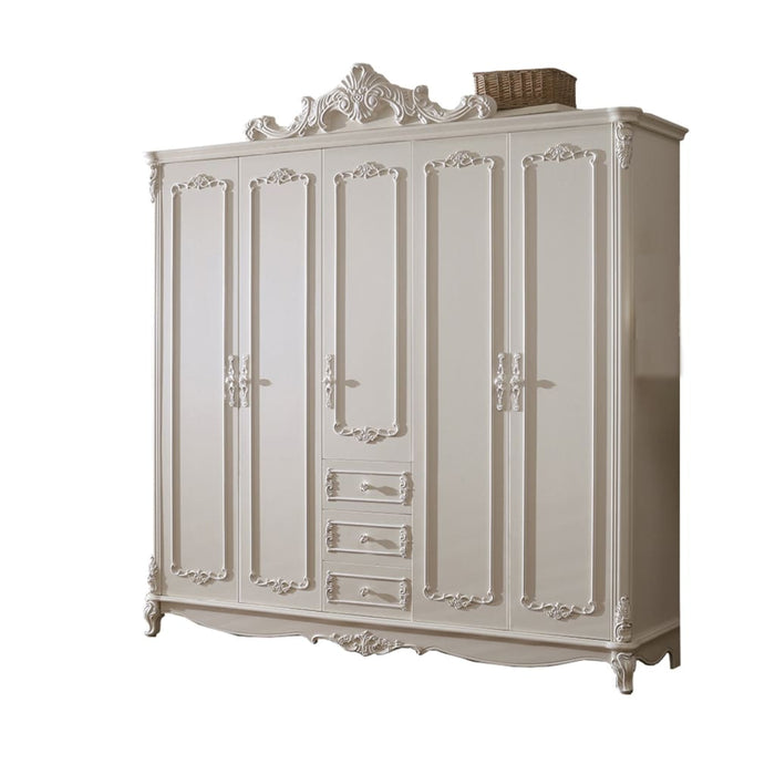 Beautiful Shabby Chic pure white Wardrobe III