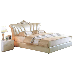 Beige Imperial  Prince Bed - Best Wish Shopping