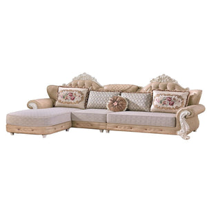Beige Living Room Set sofa couch - Sofa Chaise
