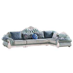 Blue Cabana Sofa Bed - Sofa Chaise