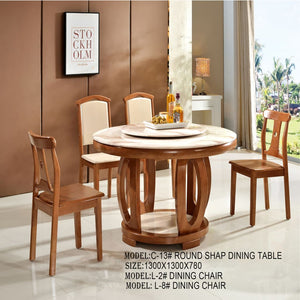 Brooks Circle Dining Table - Dining Table