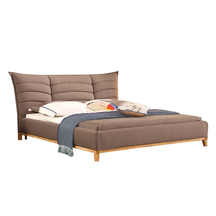 Brown European Style Bed