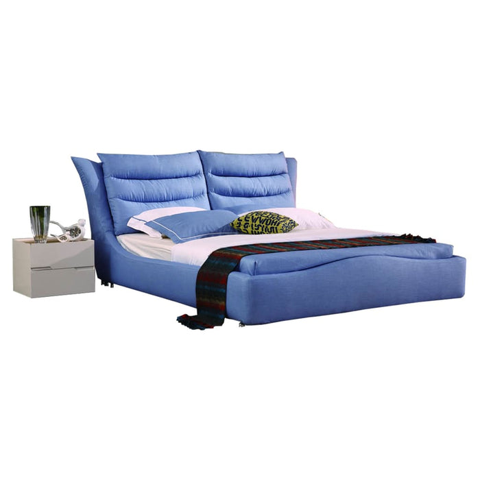 Cali Skye Blue Fabric Soft Bed