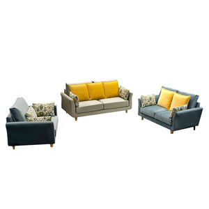 Carol Single Seat+Double Seat+Triple Seat Sofa Set - Best Wish Shopping