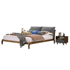 Carrington Platform Bed with Nightstand - Best Wish Shopping