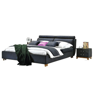 Carrington Platform Bed with Nightstand II - Best Wish Shopping