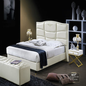 Carter Upholstered Panel Bed with Nightstand - Best Wish Shopping