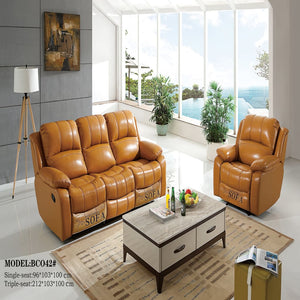 Charles Functional sofa set with reclining features - Best Wish Shopping