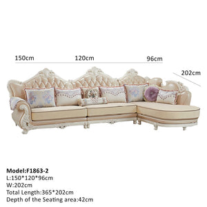 Classic and Modern Sectional Sofa - Best Wish Shopping