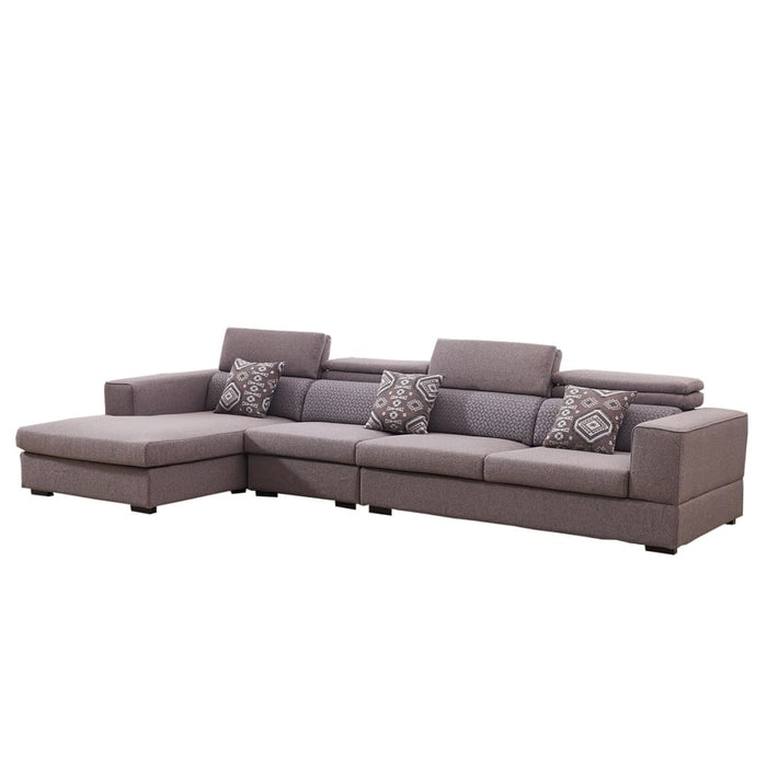Classic Grayish Red Sofa Bed