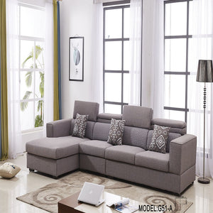 Classic Grayish Red Sofa Bed - Best Wish Shopping