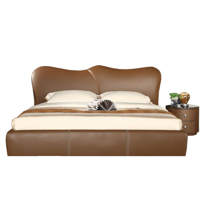 Coleman Traditional Upholstered Panel Bed