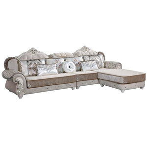 Comfort Galore Sectional Sofa chaise - Sofa Chaise