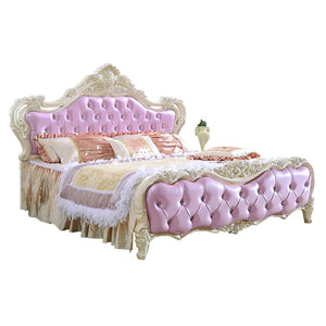 Comfort Pinky upholstered bed - Best Wish Shopping