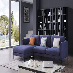 Comfy Blue Sofa Bed - Best Wish Shopping