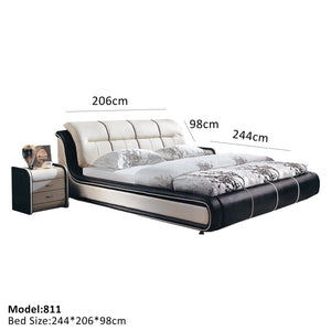 Contemporary Style Platform Bed - Best Wish Shopping
