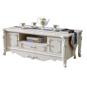 Cream Classical Style Teapoy II - Best Wish Shopping