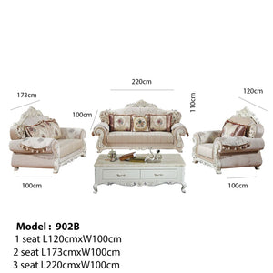 Crown Robinson Sofa set - Sofa set
