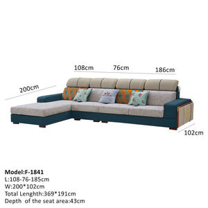 Durable Sectional Sofa With Excellent Reclining Features - Best Wish Shopping