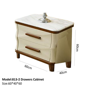Easy Sliding 2 Drawers Cabinet - Best Wish Shopping